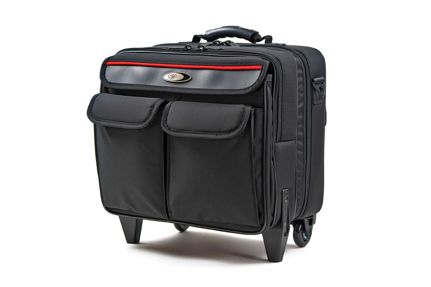 <h1>LTPJ-RB02</h1><p>Professional Laptop/Projector Roller Bag</p>